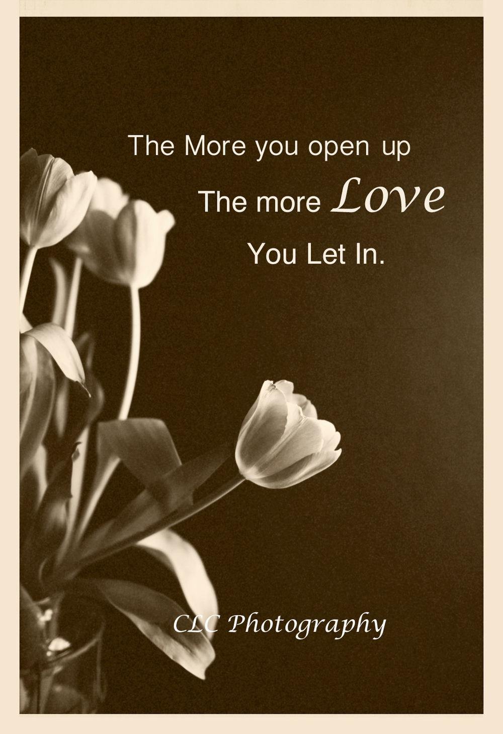 Let Love In...