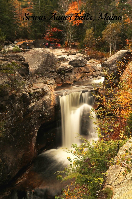 ScrewAuger Falls, Maine