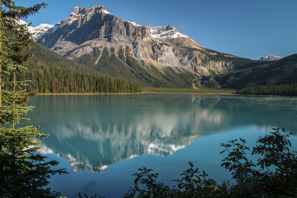 Emerald Lake...Yoho National Pk. Canadian Rockies.