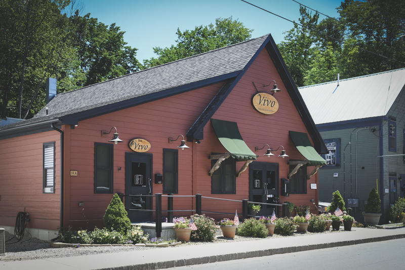 This is a fairly new Italian restaurant in town and it is so good. You need a reservation to come here unless you come early. For a small town, Bridgton has many fine places to eat. Something for everyone's budget. Next time I'll take you to the bakery...so yummy.