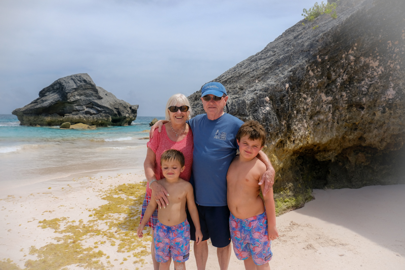 Do you remember Celebrating 50 with Papa and I. It was the best gift ever for all of us to be together in Bermuda. We have all said that we would like to go back there again. Thank you for sharing this time with us Liam and Jaxson. Here are a few more fun photo's from that trip. Of course, one of my favorites is when you and I took our camera's and went for that beautiful walk. I love that you love photography.