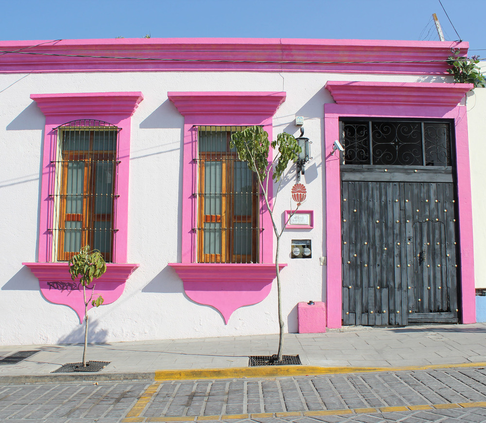 Pink trim: Oaxaca