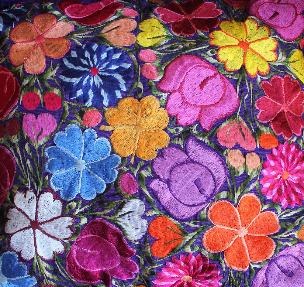 Oaxaca Embroidery