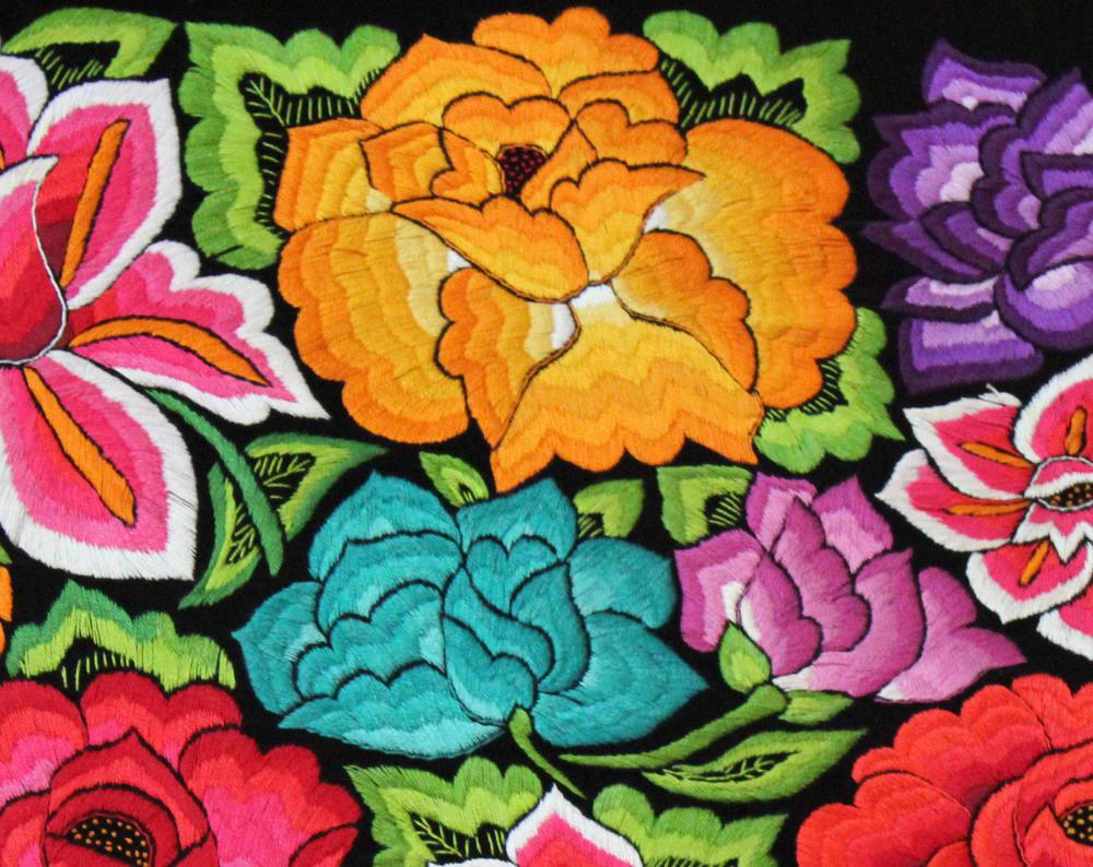 Embroidery: Oaxaca