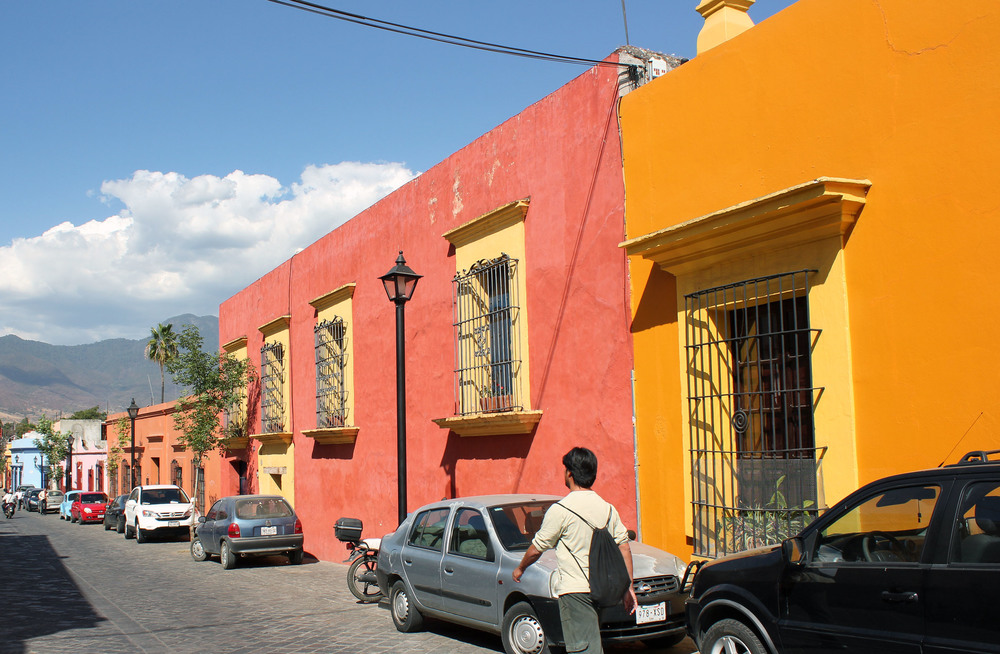 Strret scene: Oaxaca