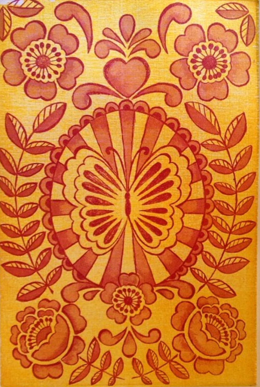 Diane Kappa Designs Print created in Oaxaca