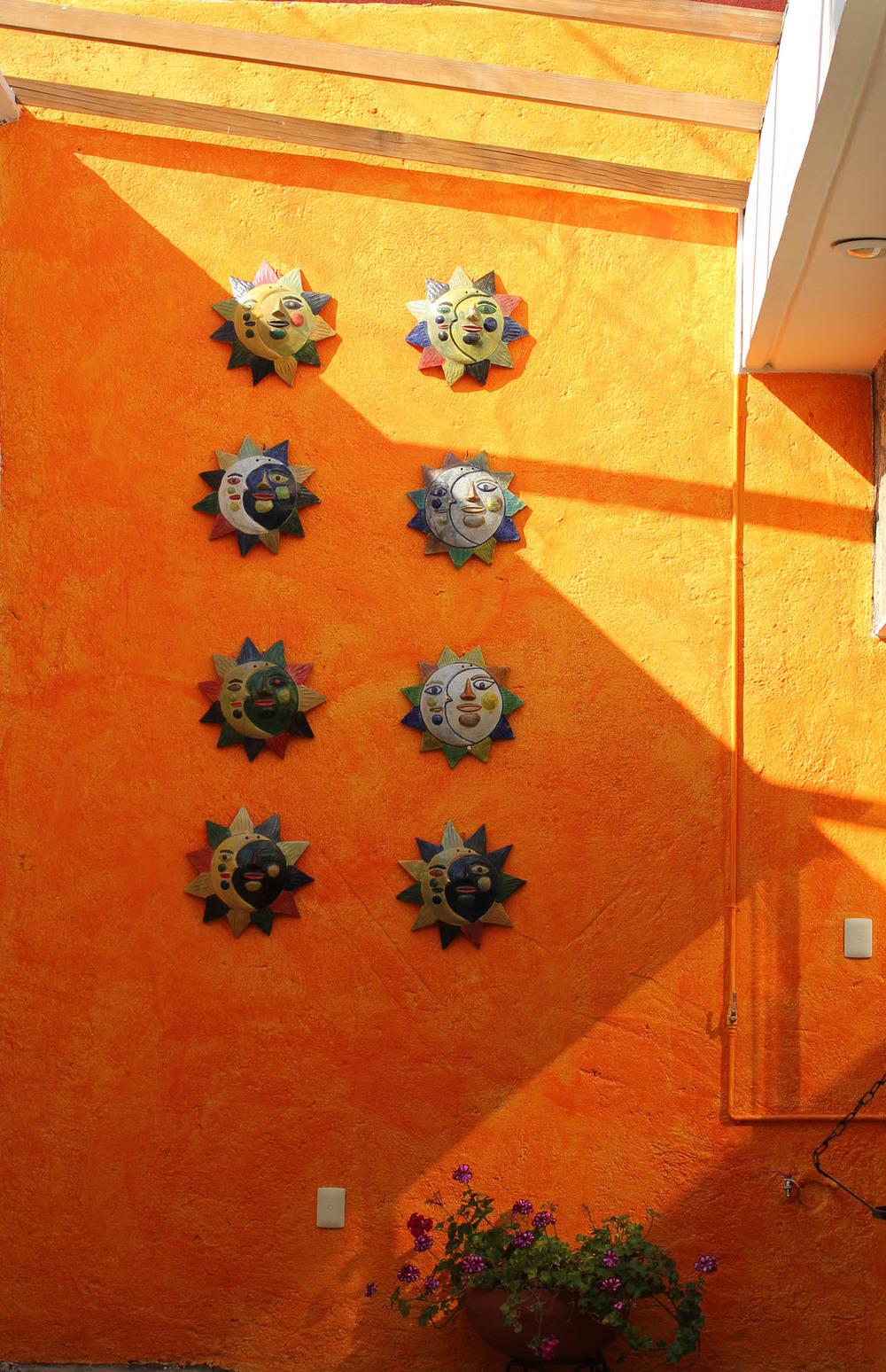 inside Casa Los Arquitos B&B: Oaxaca