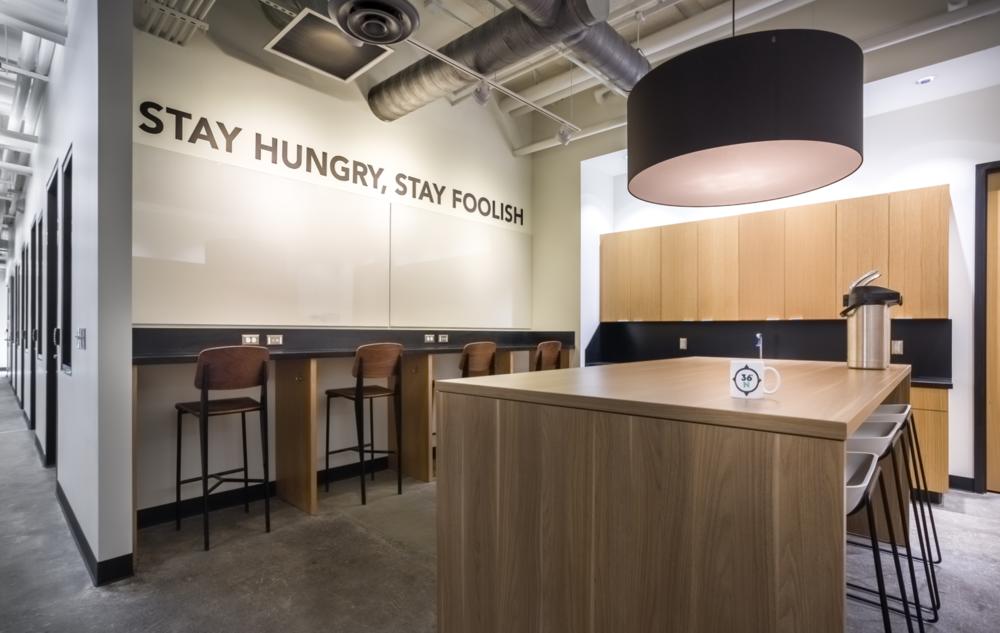 Best Modern Design Coworking Space 36 Degrees North Tulsa