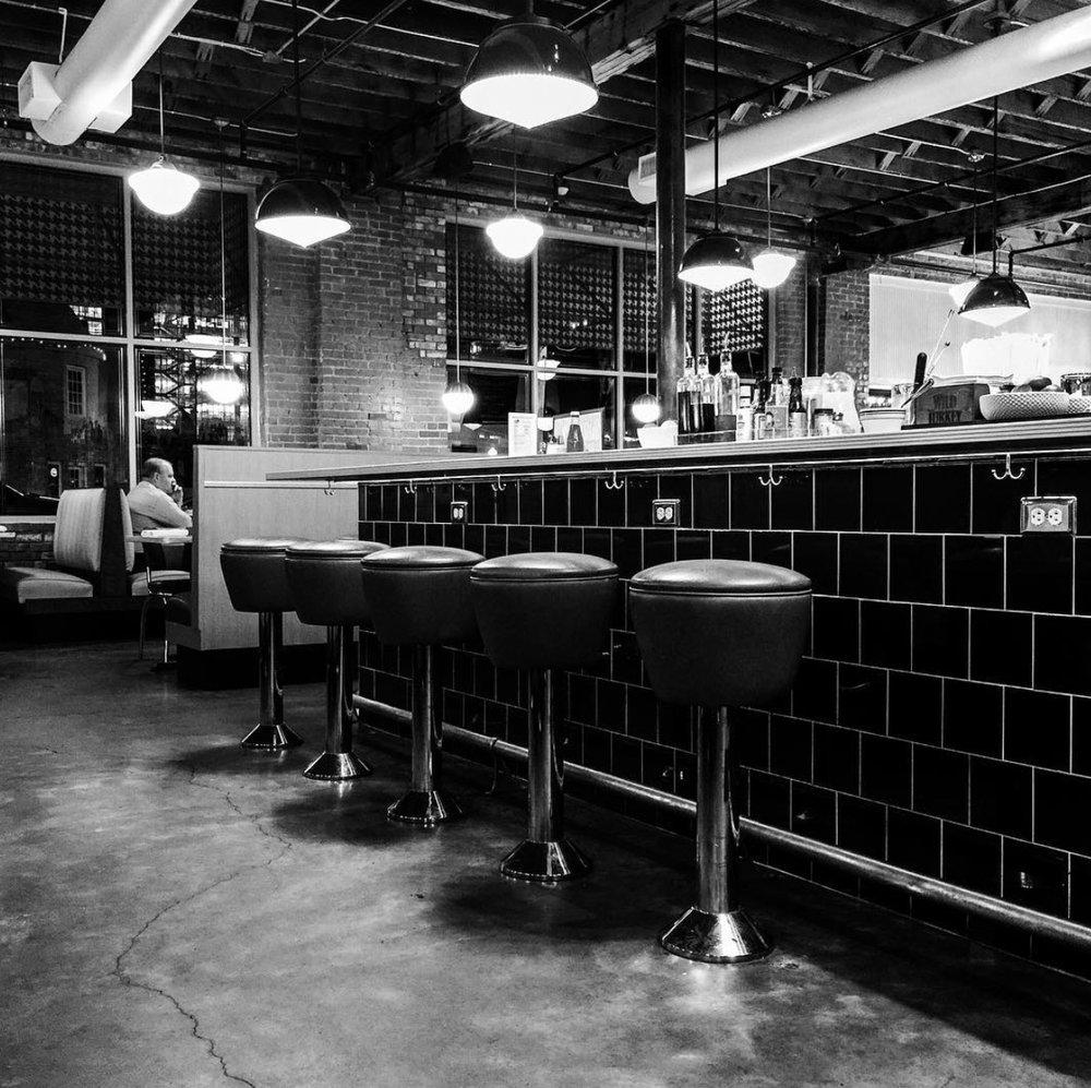 Dilly Diner BW.jpg