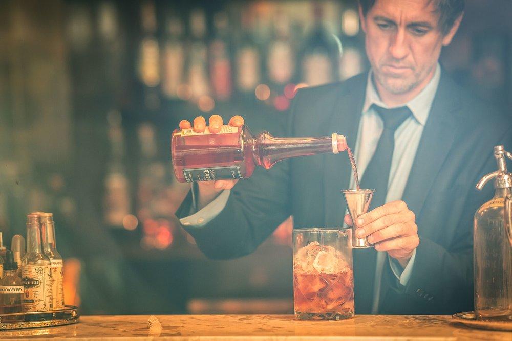 Manhattan Cricket Club - NYC Bar Design Speakeasy