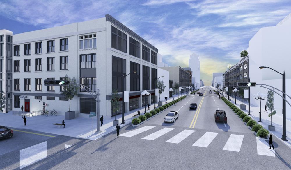 Fire Blocks District Ohio - Design Development Master Plan