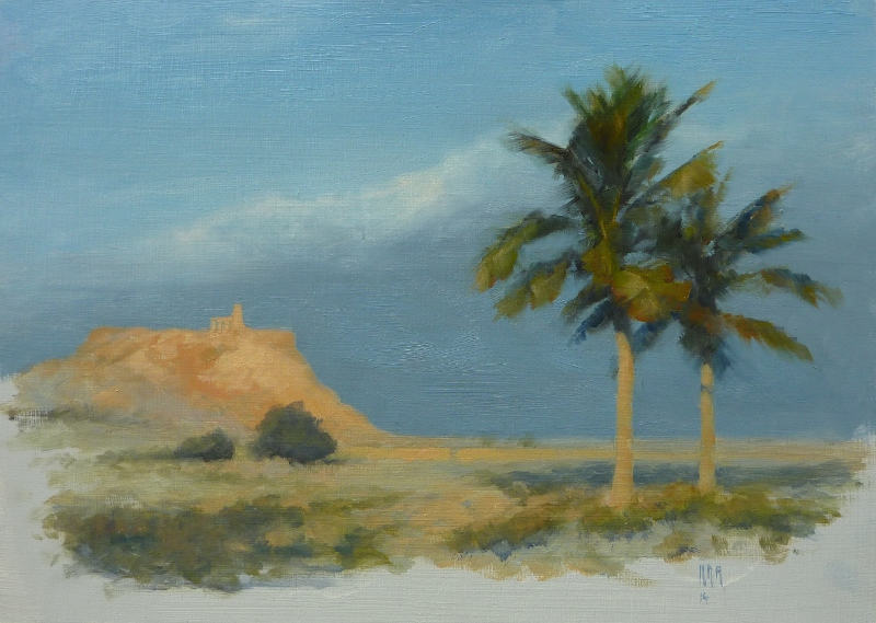 Al Sawadi, Oman (late afternoon)