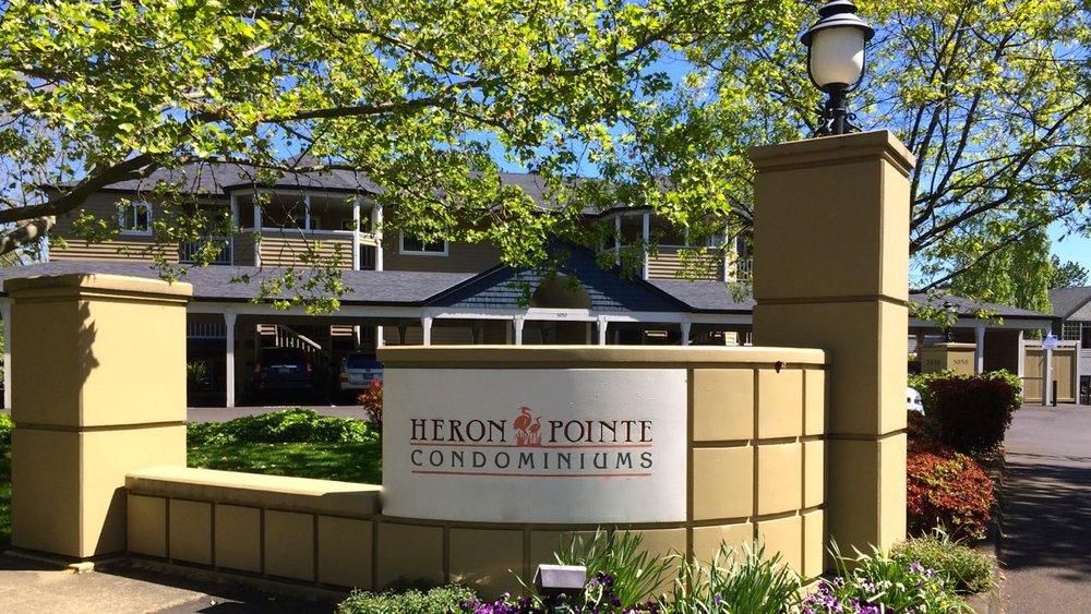 Heron Pointe Condos in the Johns Landing neighborhood.