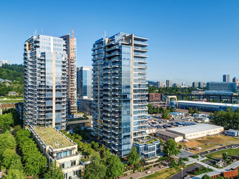 Meriwether Condos in the South Waterfront District