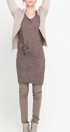 On its own, this dress is perfectly simple and understated, but pair it with a chunky sweater or a cream colored leather jacket and you take it to another level.  It is incredibly versatile.