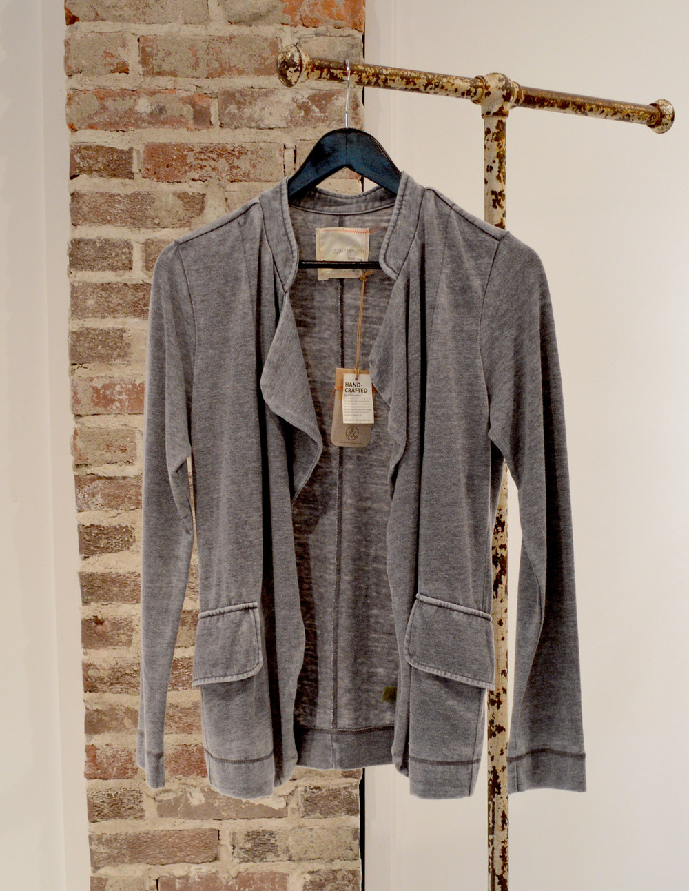 Faded grey blazer - pair with some boyfriend jeans and a white tee and you can't go wrong!