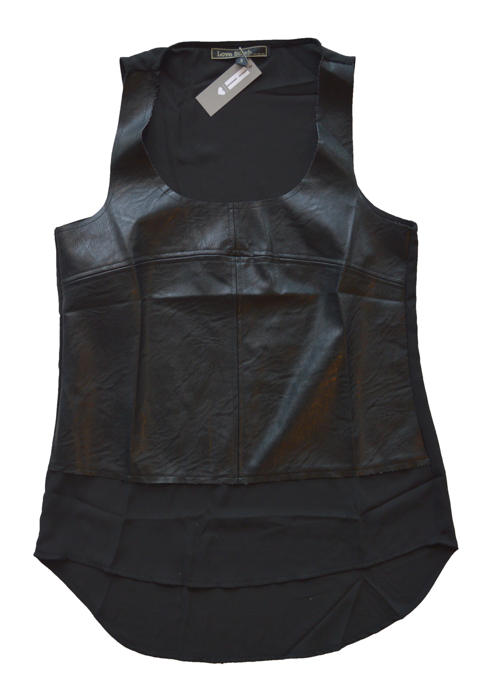 haus love leather top
