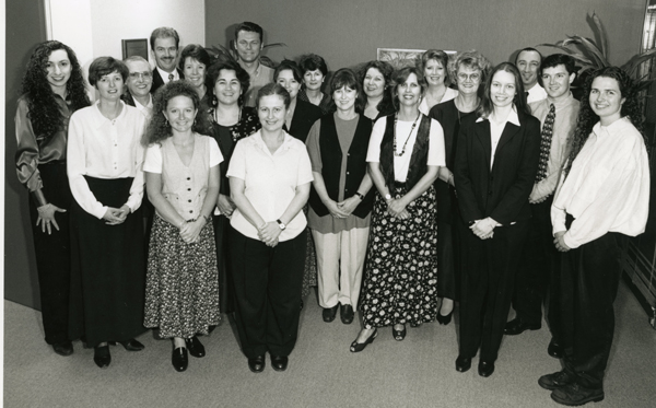 Deaf Society Staff Members 1996