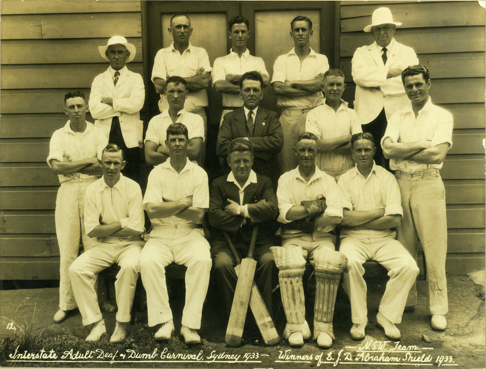 Deaf Cricket Team 1933
