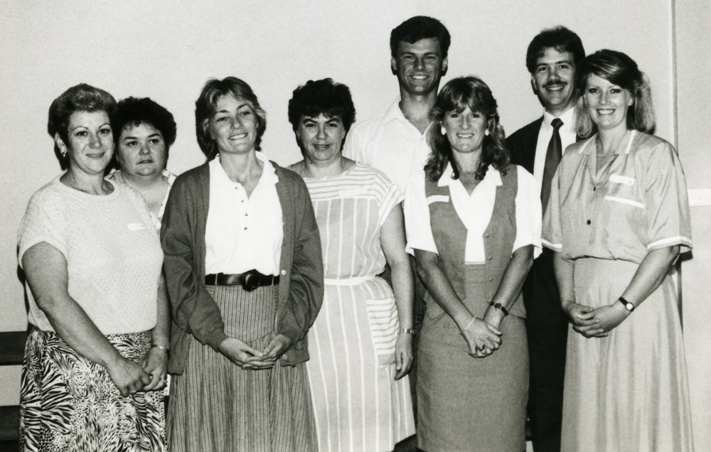 Auslan interpreters, 1980s