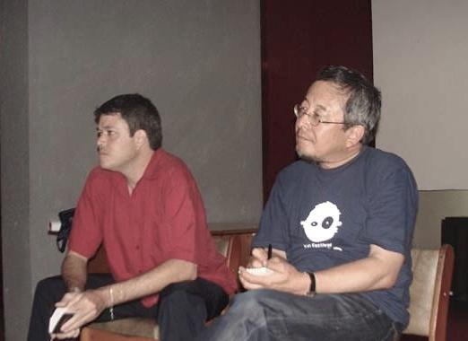 Conferencia y encuentro con realizadores cubanos, Sala de Proyecciones de los Estudios de Animación del ICAIC, 12 de febrero de 2014.