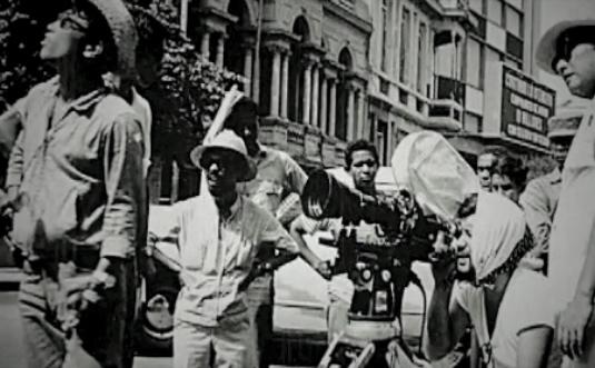 Filmación de  La novia de Cuba  (1968)