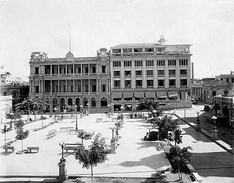 """""""Club San Carlos y Casagranda, Santiago de Cuba, 1920""""."""