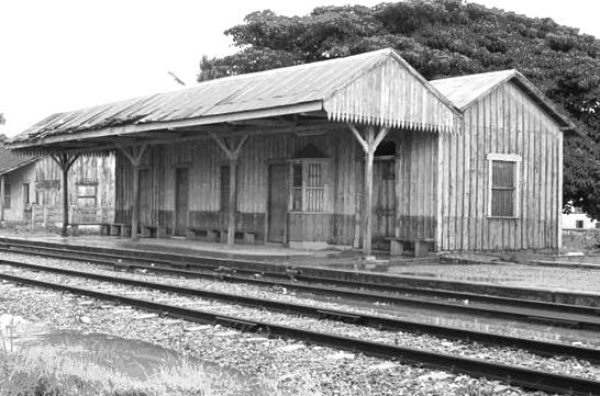 """""""Estación de trenes de Herradura""""."""
