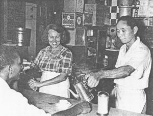 Goro Naito and his wife, Luisa