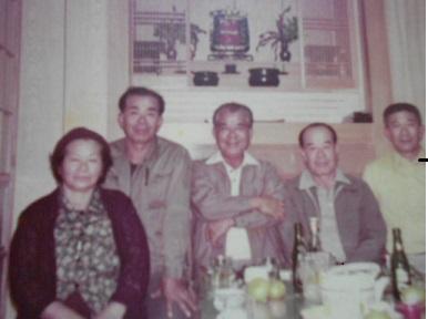 Zenshun Ishikawa (Center), Okinawa, 1970s