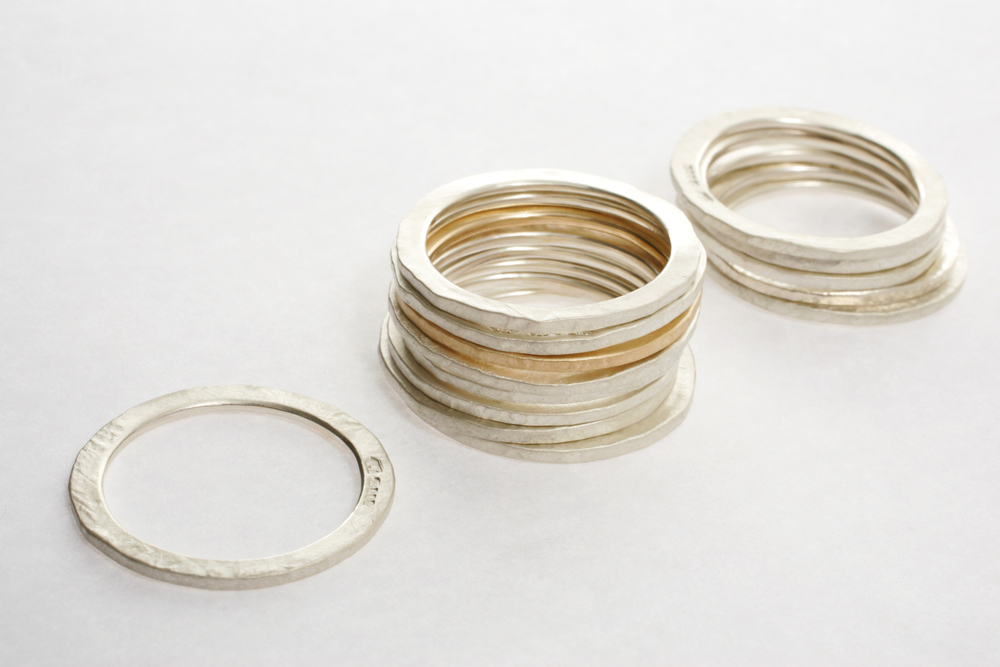 Plain Thin Ring Stack
