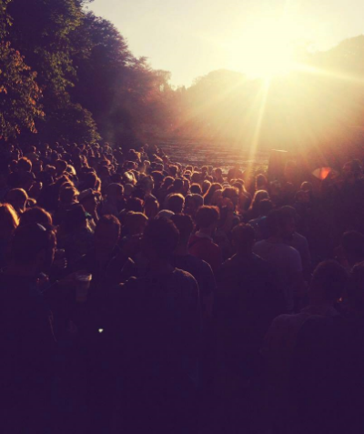 Bade Records showcase at the Cabeza Stage Gottwood 2015