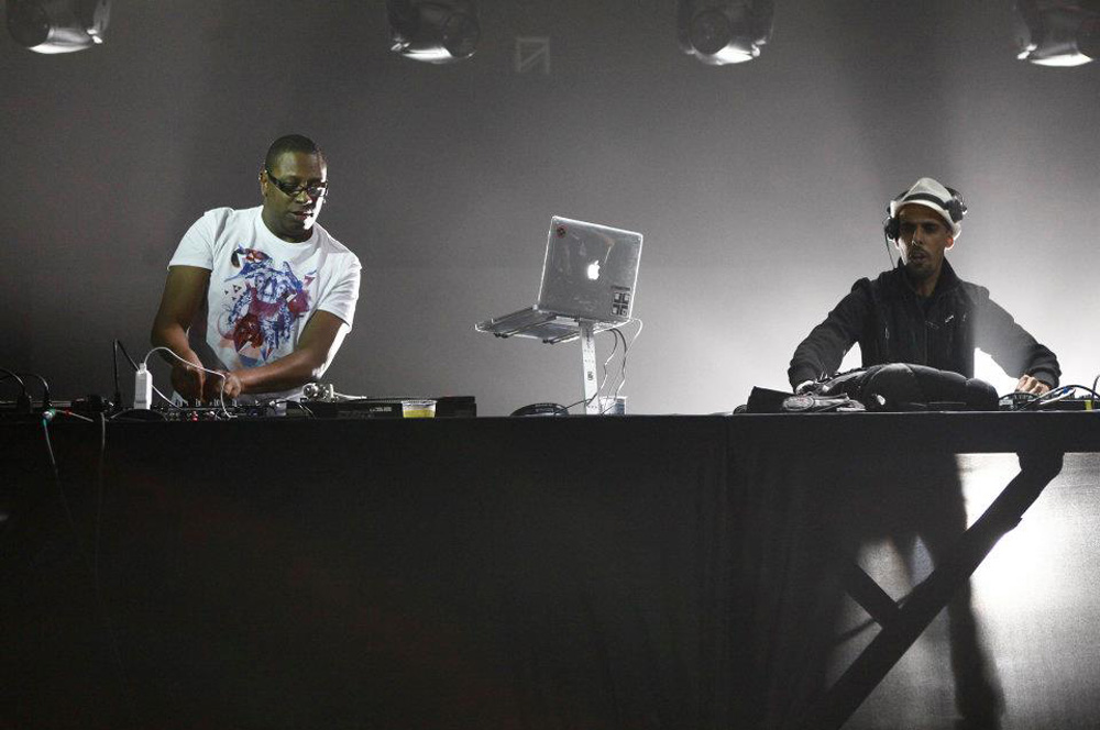 DJ Marky & DJ Patife playing in their hometown Sáo Paulo at Sónar Festival