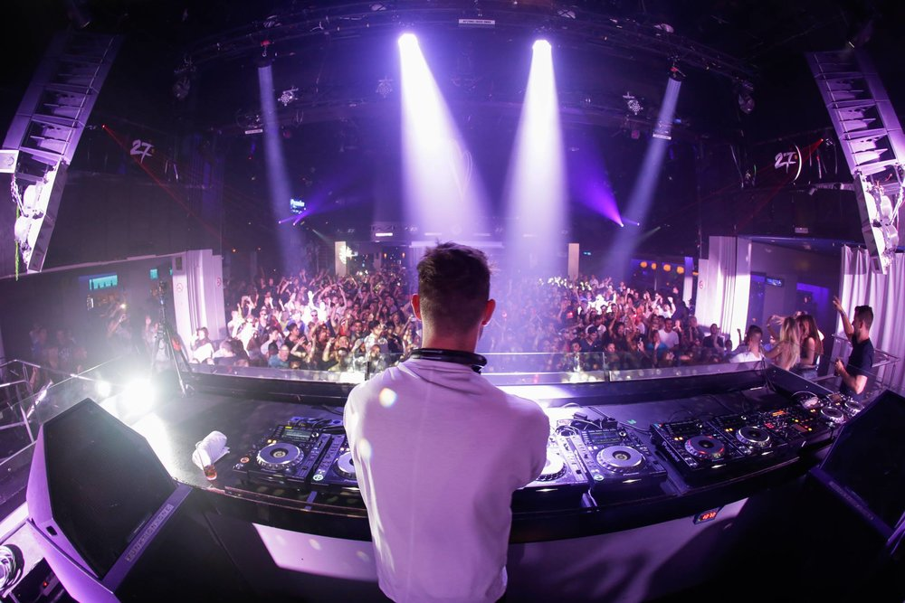 Cristoph playing @ Space, Ibiza