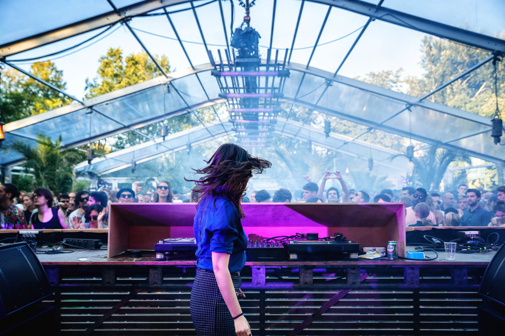 Helena Hauff @ Greenhouse | Photo: Bart Heemskerk