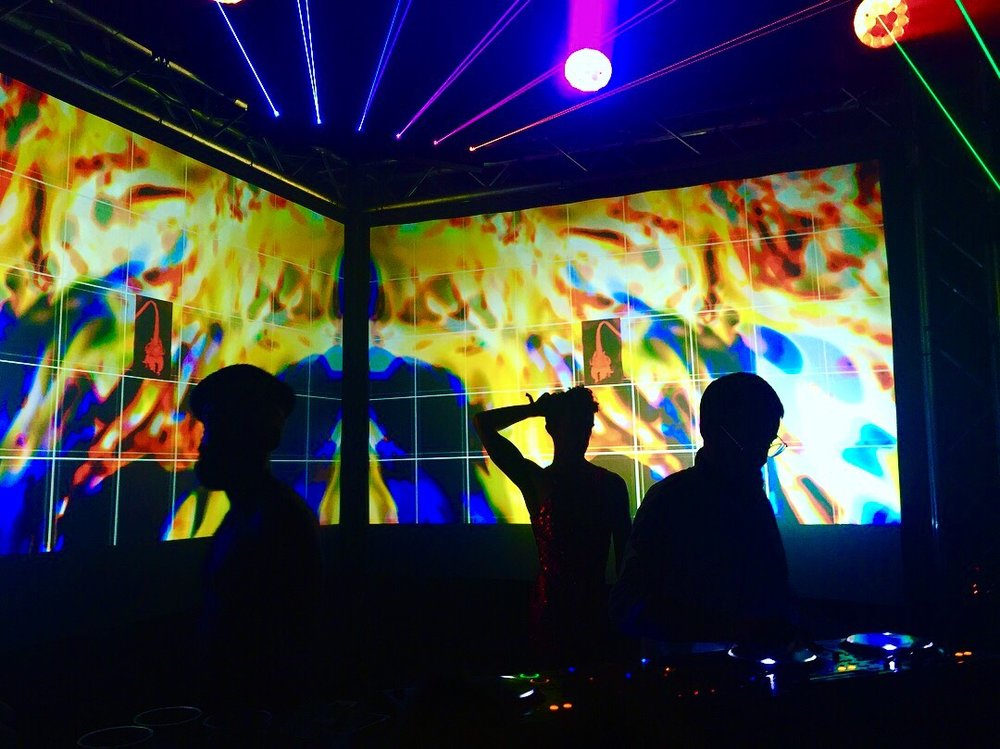 Ivan Smagghe & House Of Slopluence | Visuals:  Avva Studio . Photo credit:  Sassiru