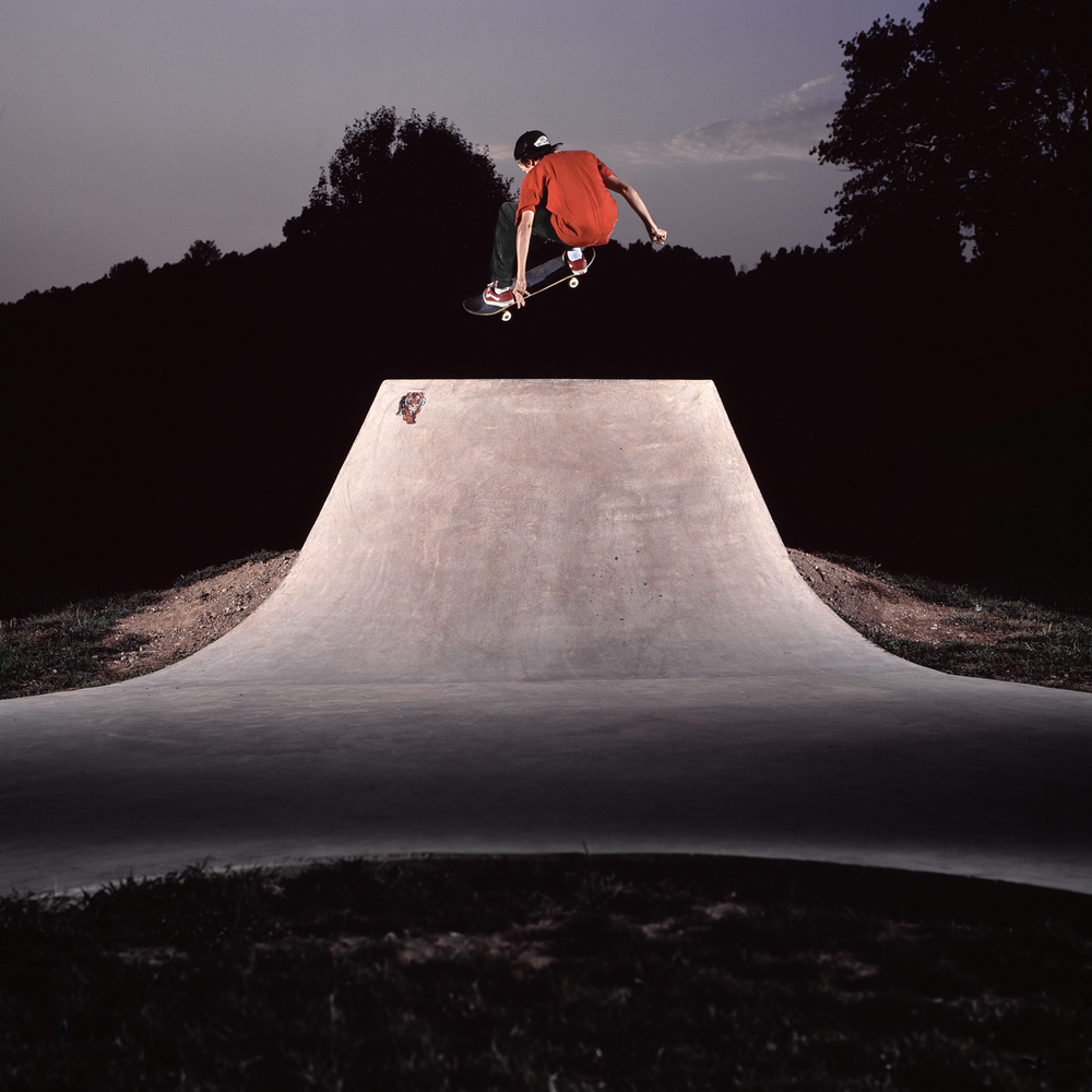 Sam Lind, Frontside Ollie, Trip To Hell, Middlefield, CT 2011