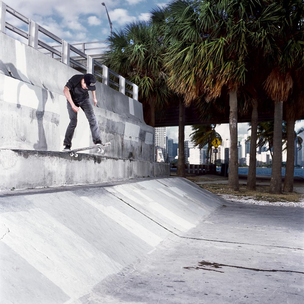 Sam Lind, Backside Tailslide, Miami, FL 2012