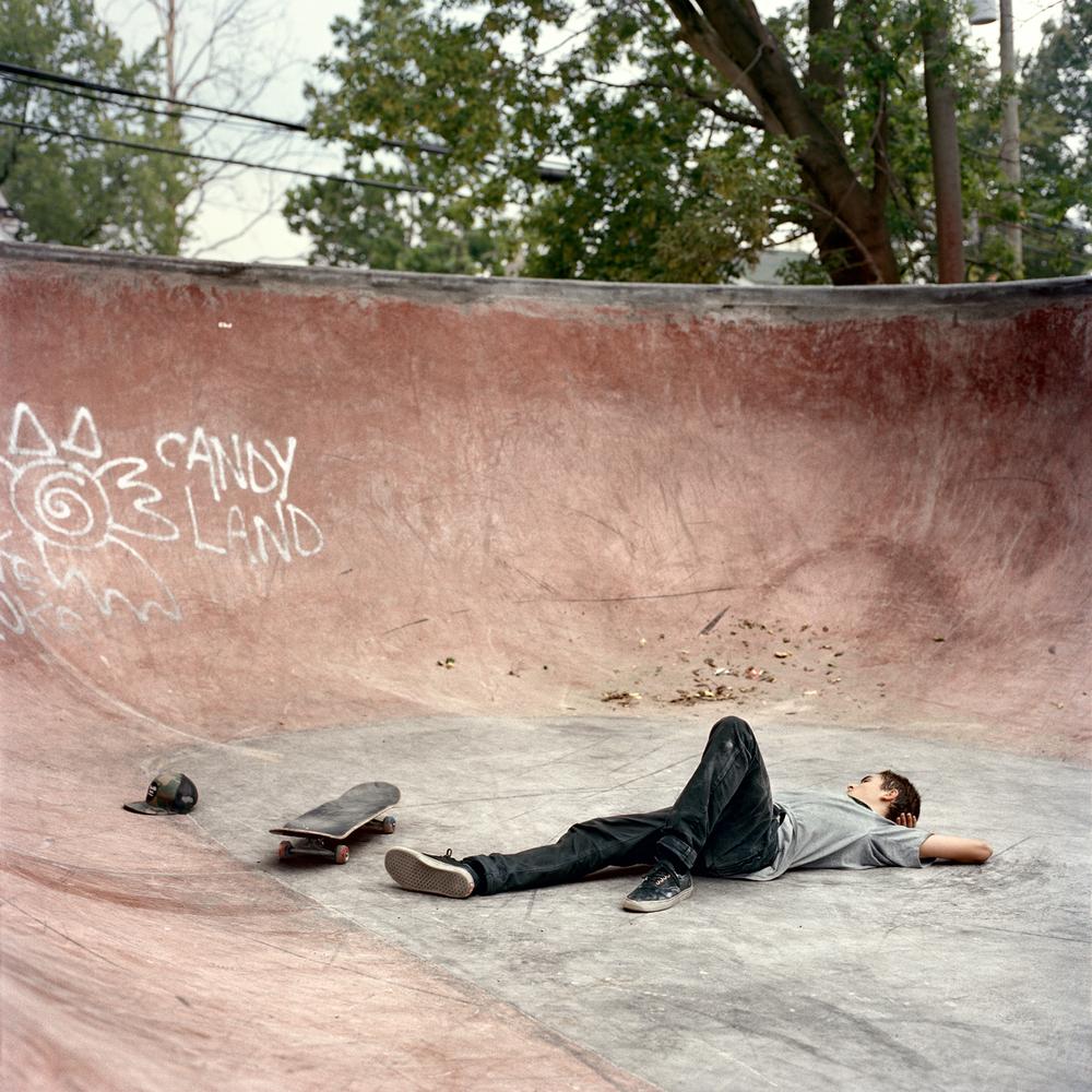 Sam Lind, Anti Hero DIY Park, Detroit, MI 2012