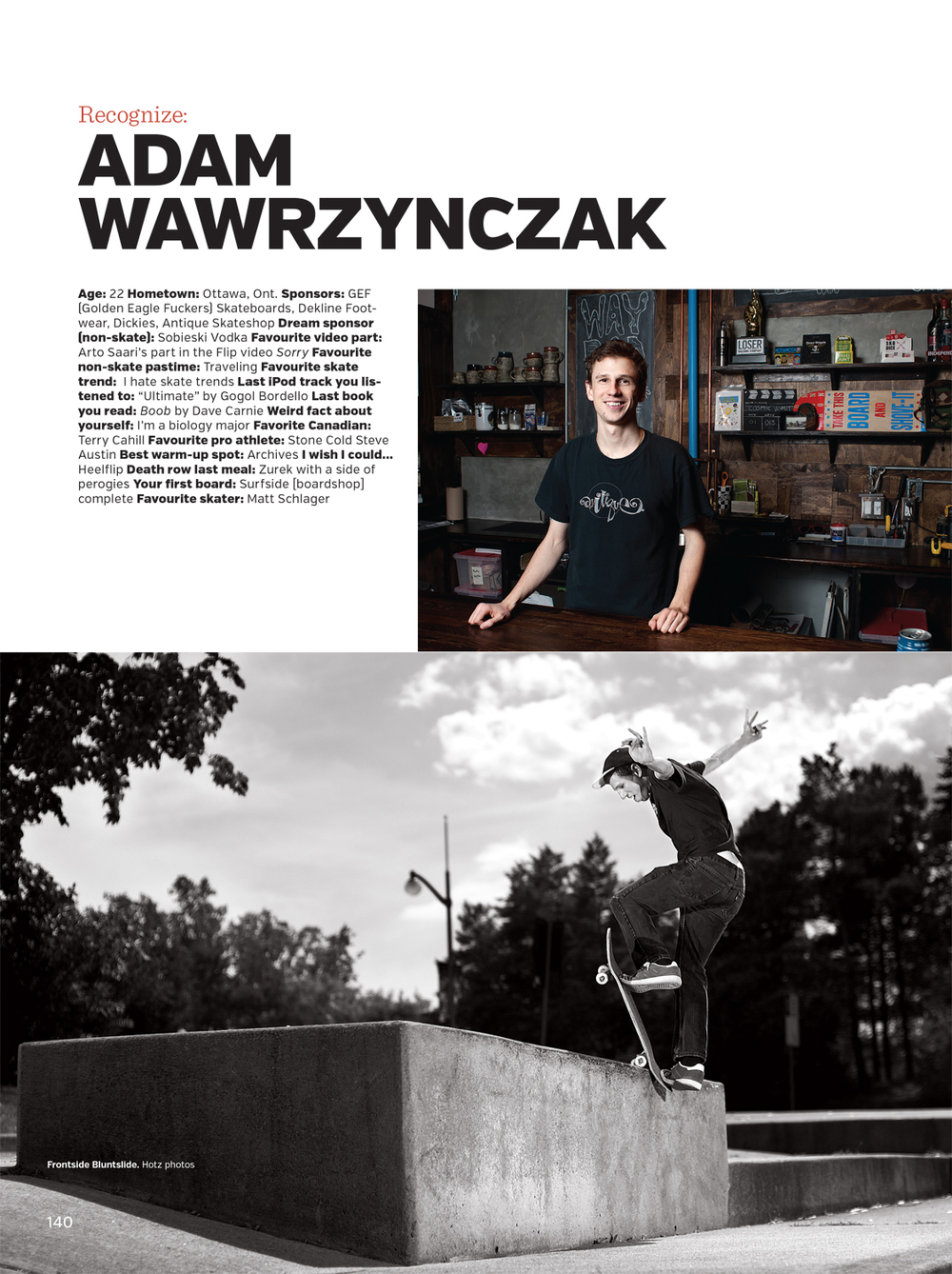 SBC Skateboard Canada Issue 15.2