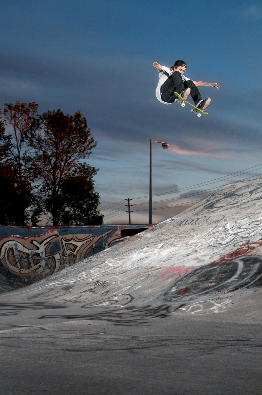 Sam Lind, Frontside Flip, Ottawa, ON 2012