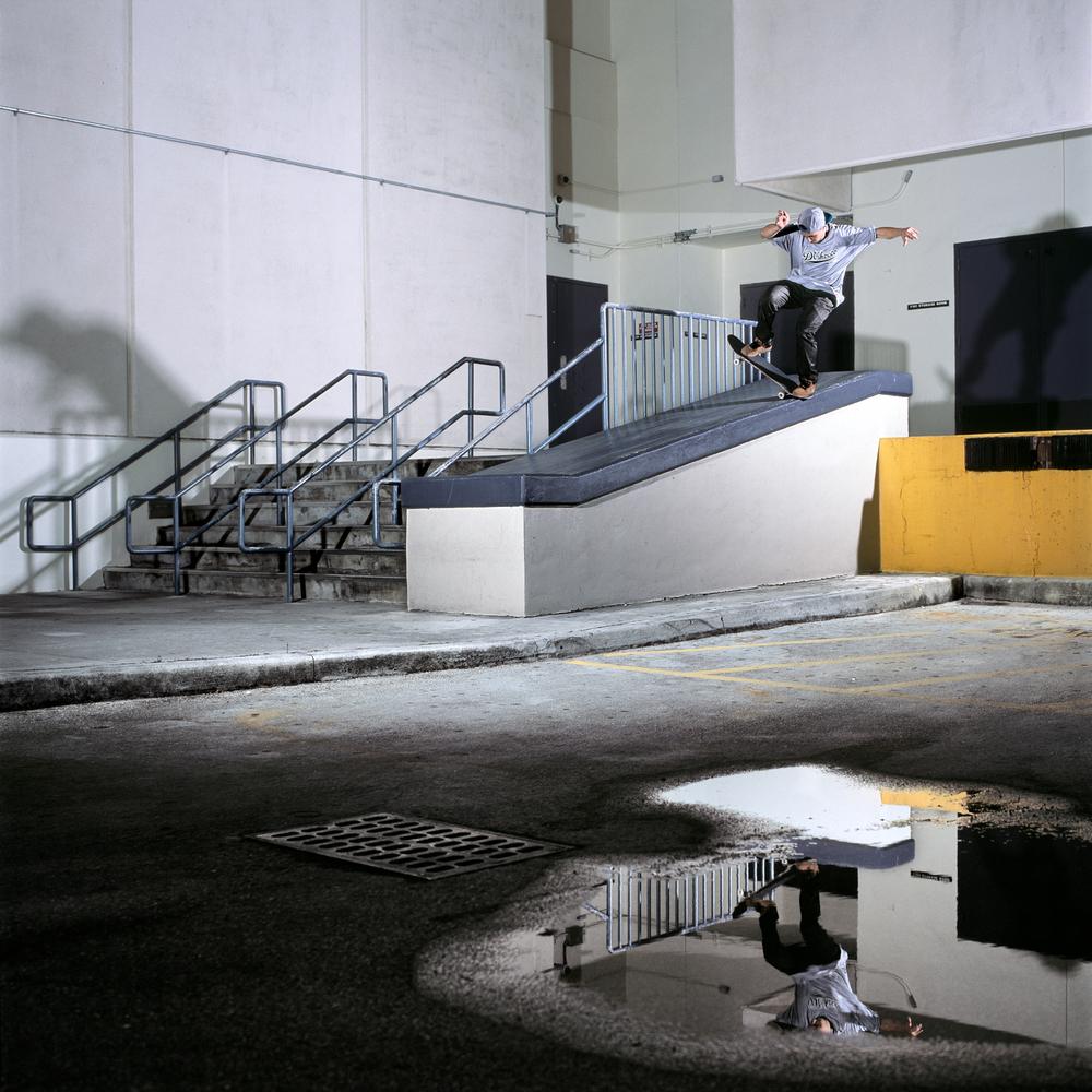 Mitch Barrette, Backside Bluntside, Miami, FL 2013