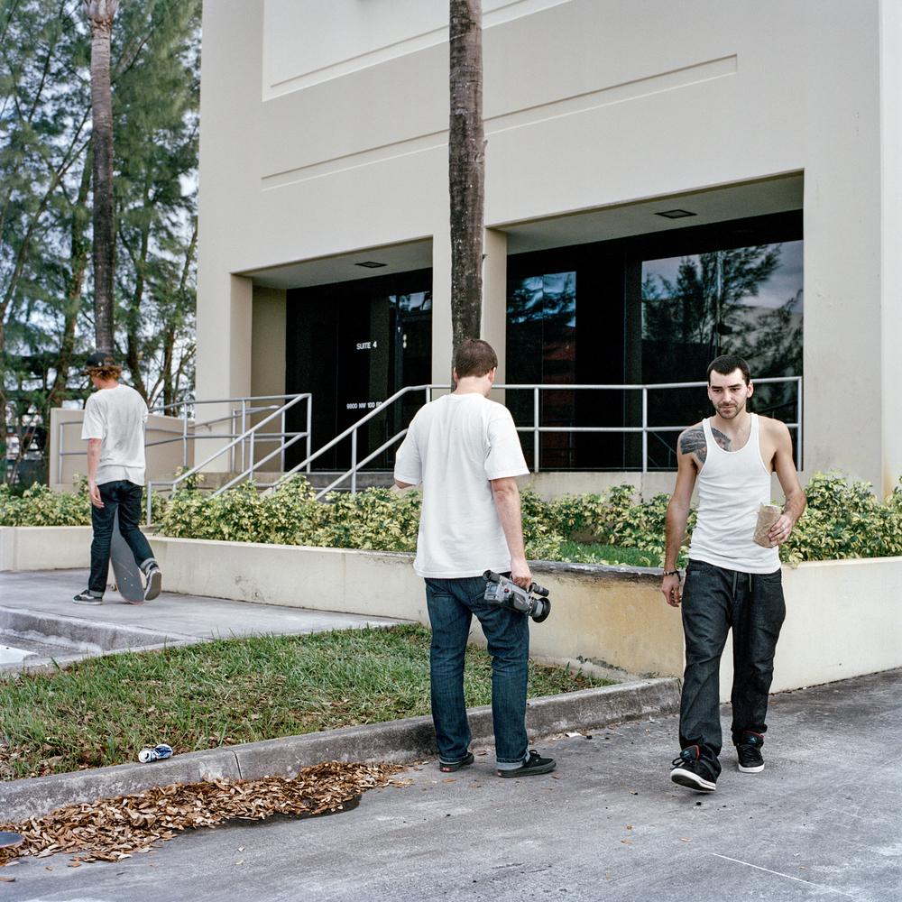 Charlie Bowins, Jay Burles & Matt Canadien, Miami, FL 2012