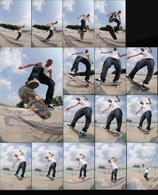 I shot this sequence off Matt Canadien at the Legacy Skirtboarders demo. I know it's hard to follow, I did the worst job ever putting the frames in order.