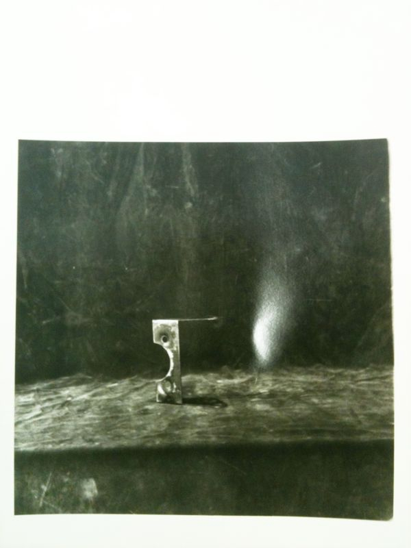 First bleached darkroom print!