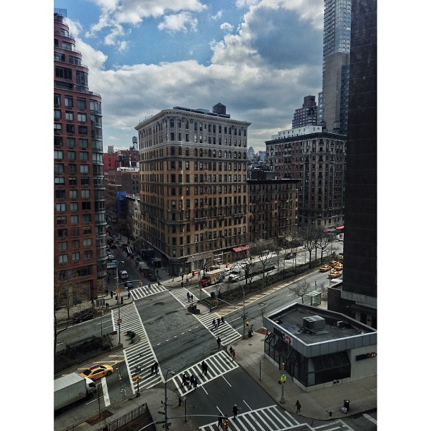 The view. #nyc #apartment #living #upperwestside #manhattan #mikemarquette #youngphotogs @ypafoundation (at 201 W 70th St.)