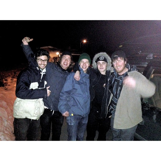 On the road, first trip of 2013 with the homies!! @_charliebones @guizer @_samlind @peteon @totw @antiqueskate #onturr #aspectratio #groton #connecticut #topvideocominsoonstyll @chillydagod (at Spencerville, ON)