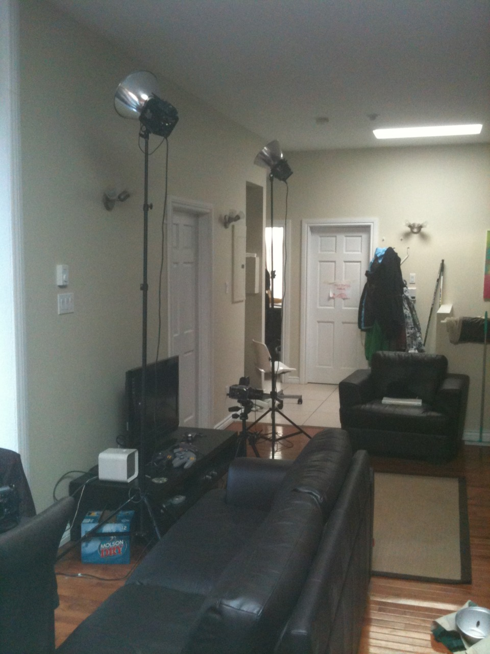 MTL apartment photo session. Photos to come once I get to school and develop the film.