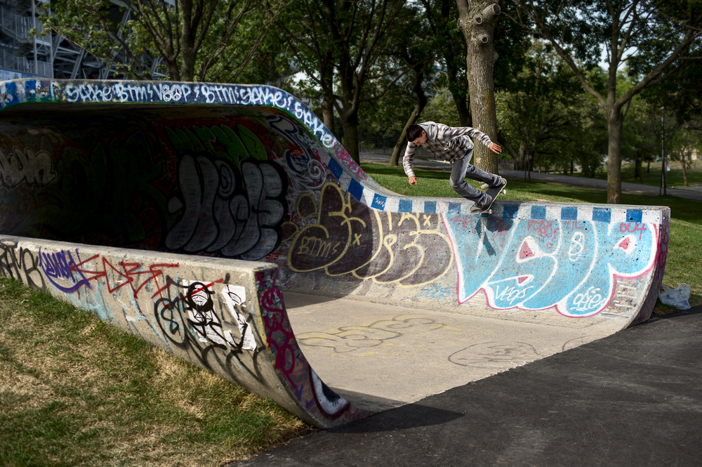 Chico Brenes, Backside Disaster, Montreal, QC 2013