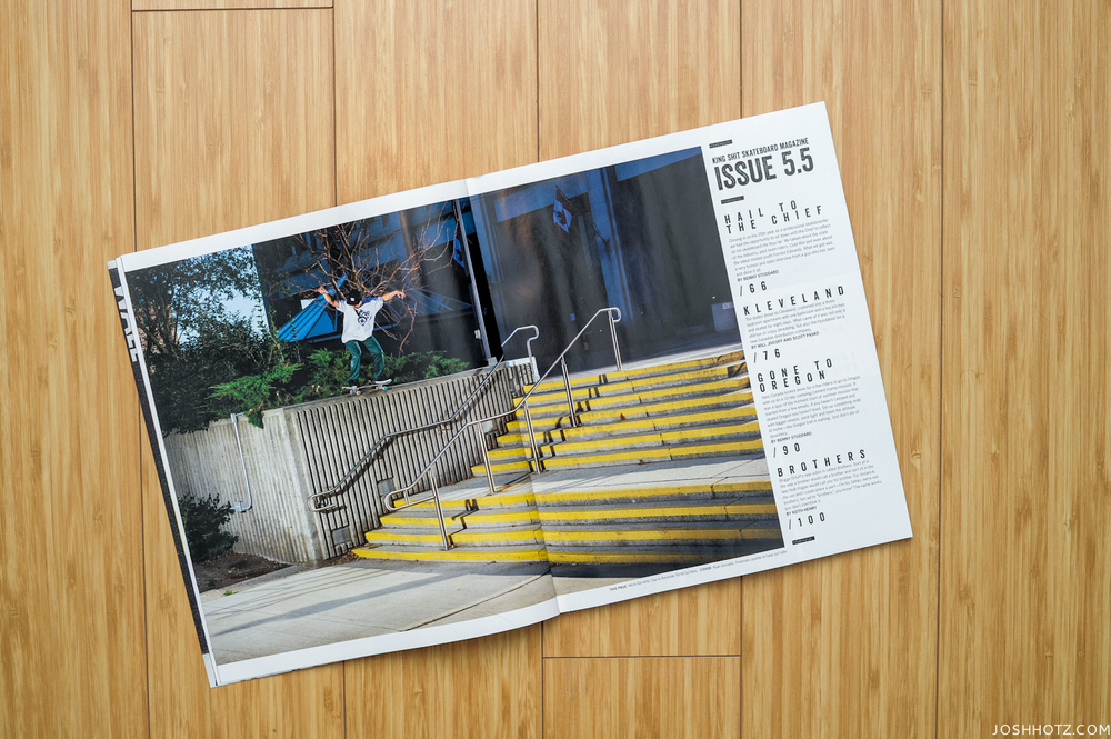 The still of Mitch Barrette's ender finally made it to print in the latest Kingshit. If you haven't already, CLICK THIS and choose the DVD or Download option to get your hands on the 20th Anniversary video that sequels Top Dollar.